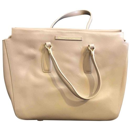 Pre-owned Ermanno Scervino Beige Leather Handbag