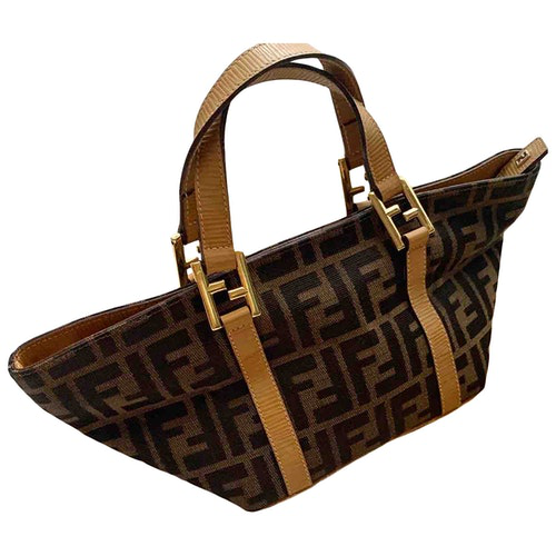 Pre-owned Fendi Cloth Handbag