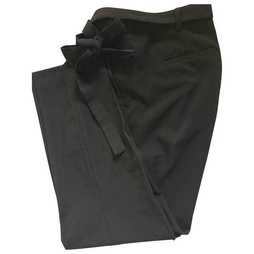 Pre-owned Gerard Darel Black Trousers