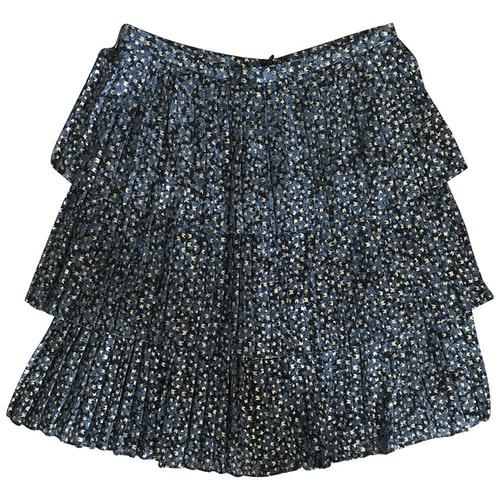 Pre-owned Michael Kors Blue Skirt