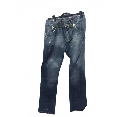 Pre-owned Dsquared2 Blue Denim - Jeans Trousers