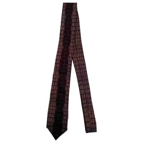 Pre-owned Fendi Purple Silk Ties