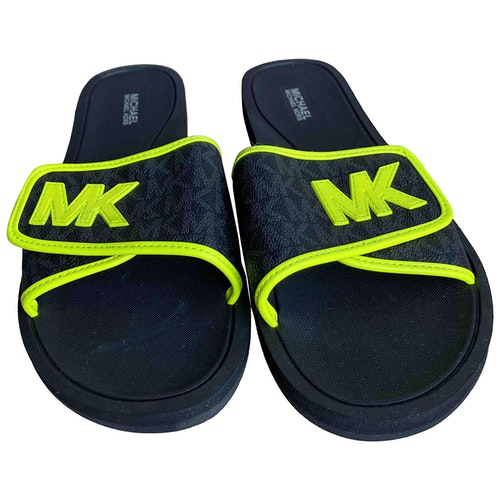 Pre-owned Michael Kors Black Rubber Sandals