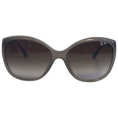 Pre-owned Chanel Beige Sunglasses