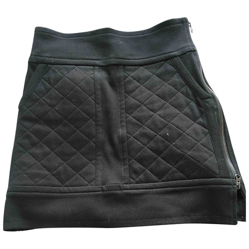 Pre-owned Sonia Rykiel Black Cotton Skirt