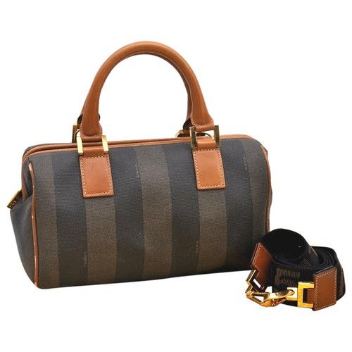 Pre-owned Fendi Brown Leather Handbag