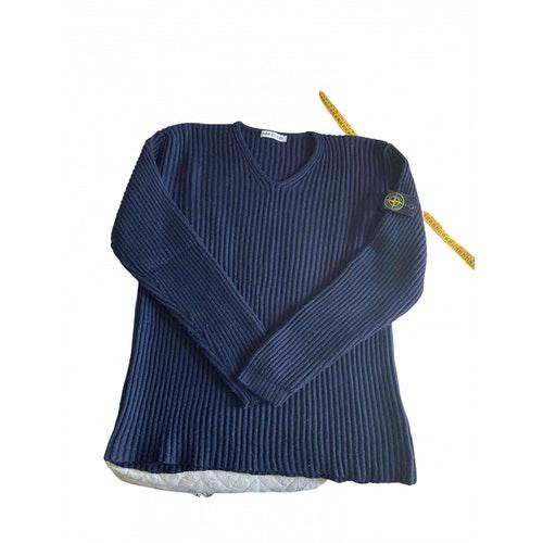 Pre-owned Stone Island Wool Knitwear & Sweatshirts