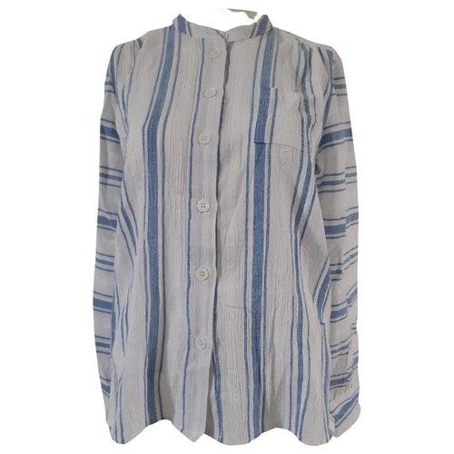 Pre-owned Antik Batik Blue Cotton  Top