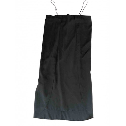 Pre-owned Totême Black Silk Dress
