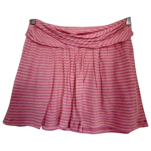 Pre-owned See By Chloé Pink Cotton Shorts