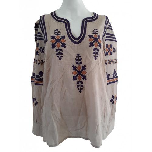 Pre-owned Antik Batik Beige Cotton  Top