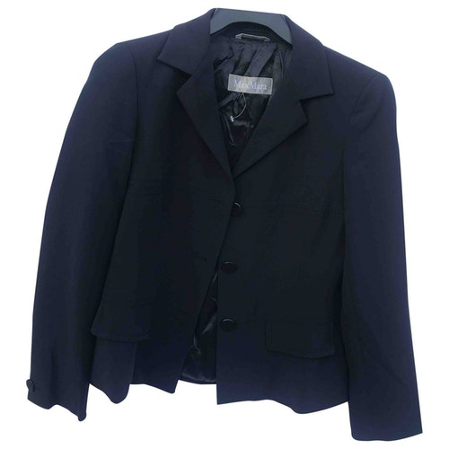 Pre-owned Max Mara Blue Jacket