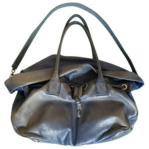 Pre-owned Sonia Rykiel Blue Leather Handbag