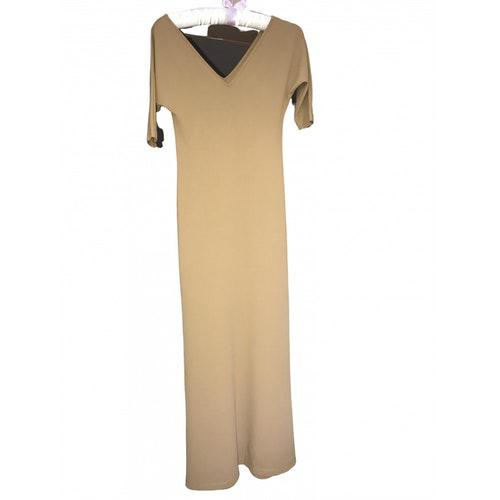 Pre-owned Trussardi Jeans Beige Dress