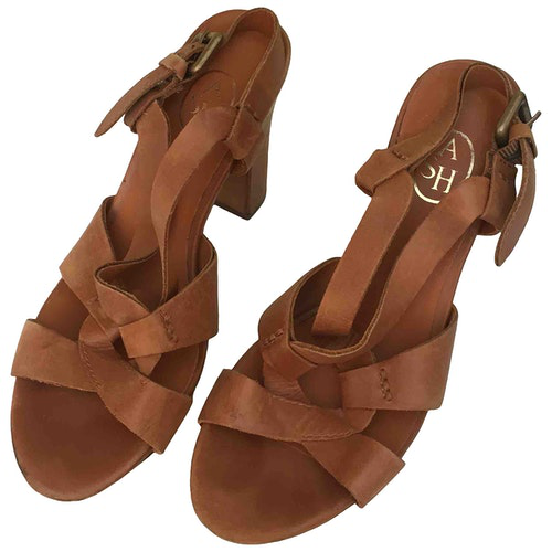 Pre-owned Ash Brown Leather Sandals
