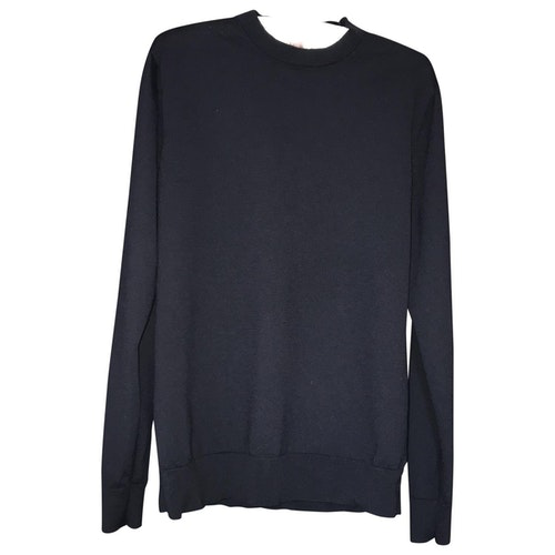 Pre-owned Cos Navy Wool Knitwear & Sweatshirts