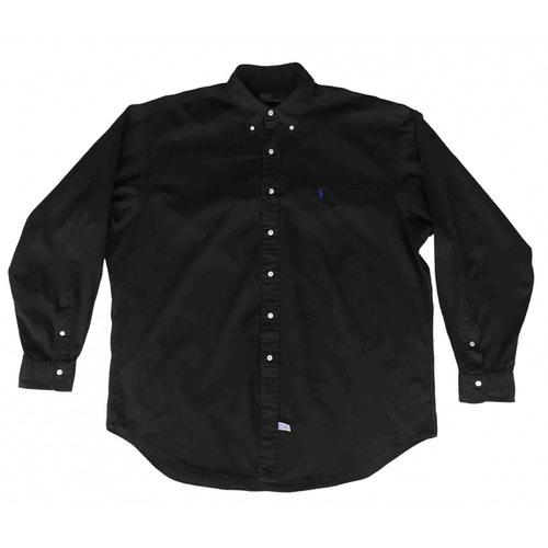 Pre-owned Polo Ralph Lauren Black Cotton Shirts
