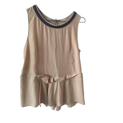 Pre-owned Marni Pink Silk  Top