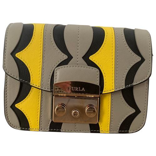 Pre-owned Furla Metropolis Multicolour Leather Handbag