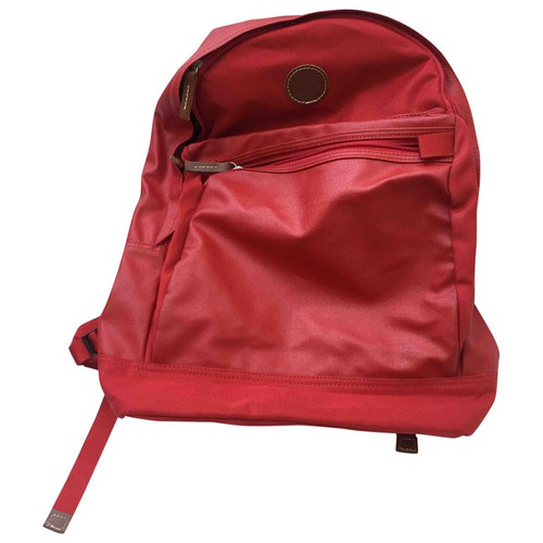 Pre-owned Fred Perry Red Cloth Backpack