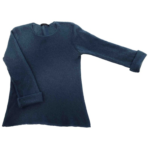 Pre-owned Theory Blue Wool Knitwear