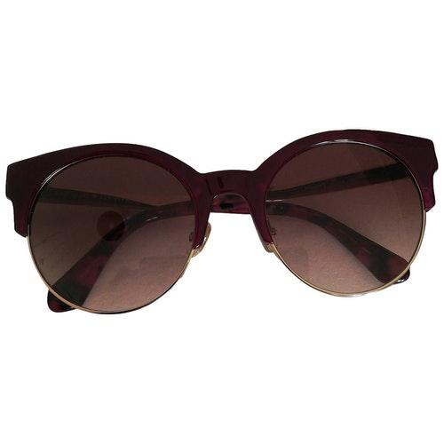 Pre-owned Kate Spade Purple Metal Sunglasses
