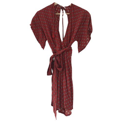 Pre-owned Faithfull The Brand Red Dress