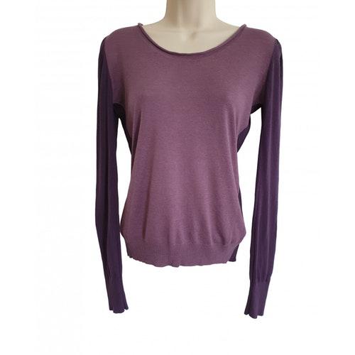 Pre-owned Stella Mccartney Purple Cashmere Knitwear