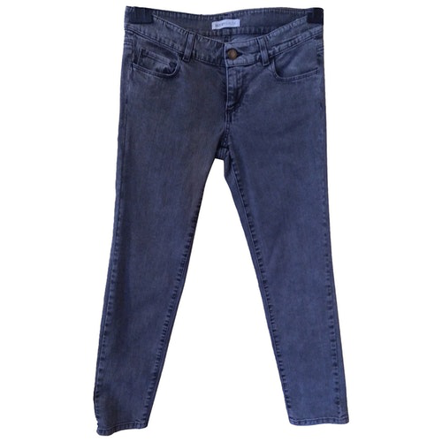 Pre-owned See By Chloé Grey Cotton - Elasthane Jeans