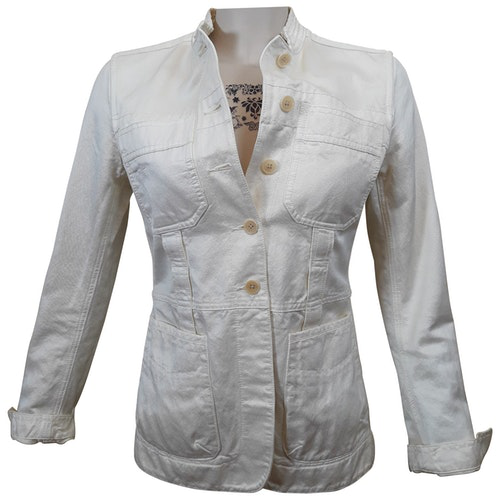 Pre-owned Dkny Beige Cotton Jacket