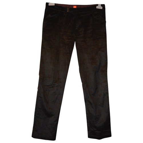 Pre-owned Hugo Boss Black Trousers