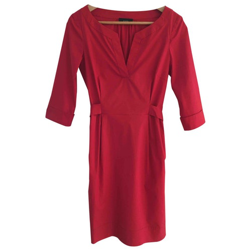 Pre-owned Joseph Red Cotton Dress