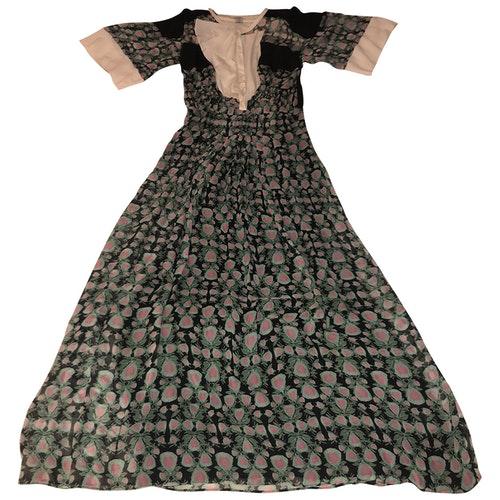 Pre-owned Pinko Silk Dress