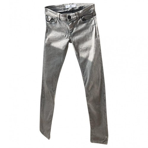 Pre-owned Designers Remix Blue Cotton - Elasthane Jeans