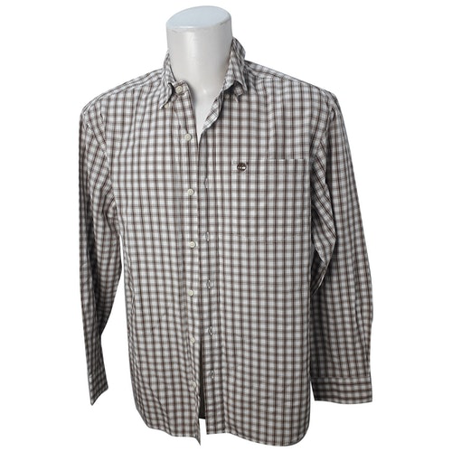 Pre-owned Timberland Grey Cotton Shirts