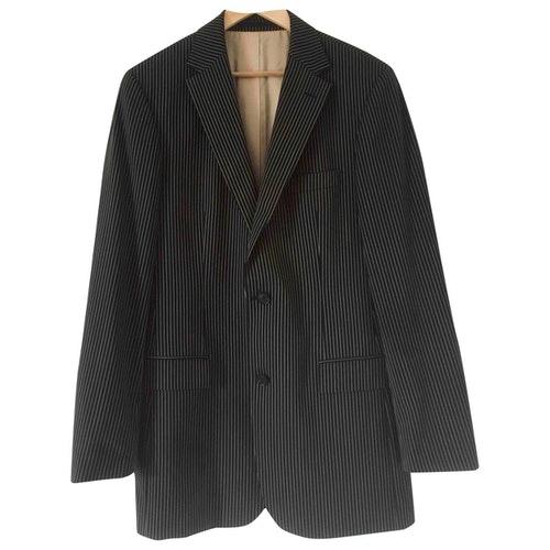 Pre-owned Hugo Boss Brown Wool Jacket