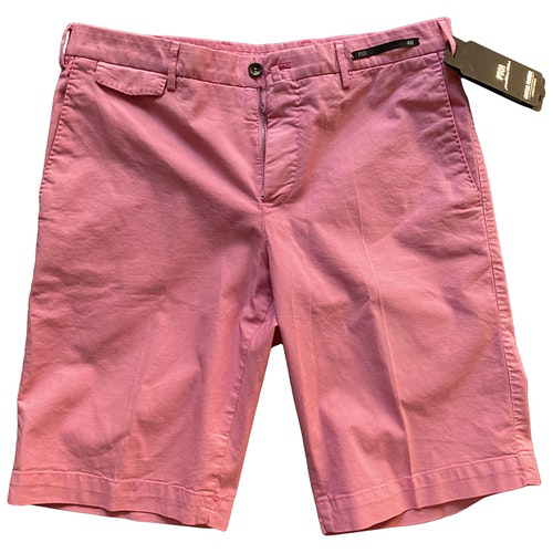 Pre-owned Pt01 Pink Cotton Shorts