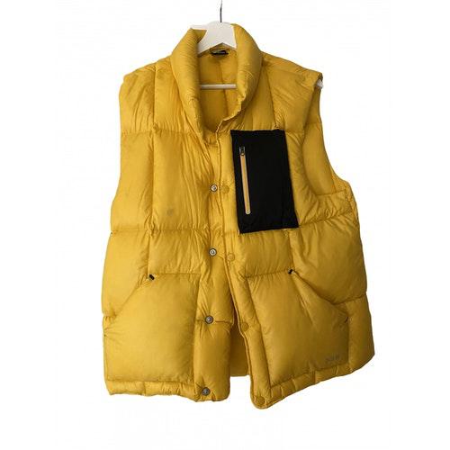 Pre-owned Nike Yellow Coat