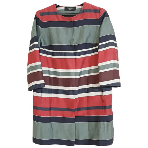Pre-owned Max Mara Multicolour Linen Jacket