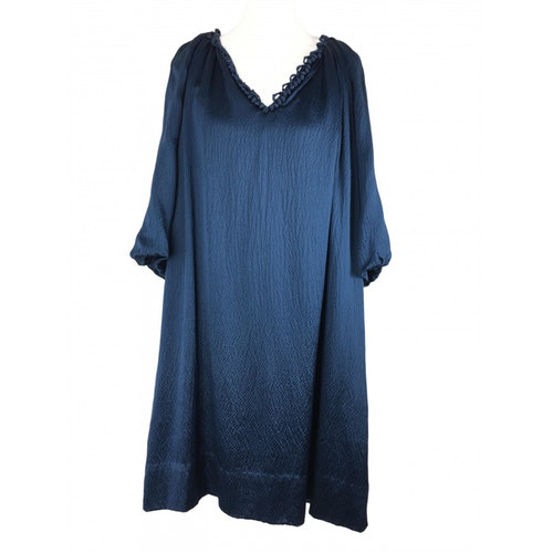 Pre-owned 3.1 Phillip Lim Blue Silk Dress