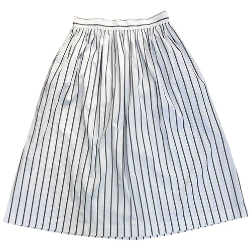Pre-owned Pablo White Cotton Skirt