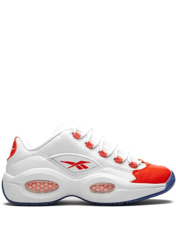 Reebok Question Low Sneakers In White