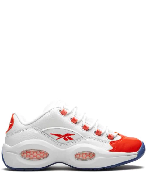 Reebok Question Low Sneakers In White
