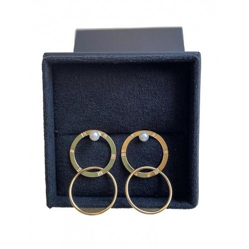 Pre-owned Delfina Delettrez Metallic Yellow Gold Earrings