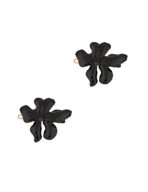 Christie Nicolaides Mini Elena Hair Clip Black (pair)
