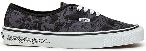 Pre-owned Vans  Authentic 44 Dx Nbhd X Mr. Cartoon In Uncle Toons Mart