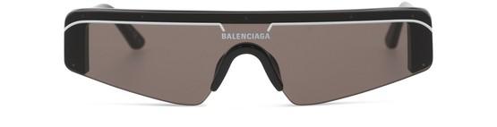 Balenciaga Ski Rect 0003s Sunglasses In Black 001