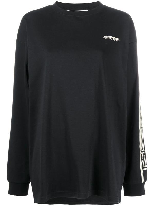 Fenty Blacktie Print Long-sleeve T-shirt