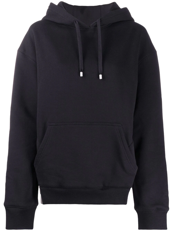 Fenty Rounded Cutout Hoodie In Black