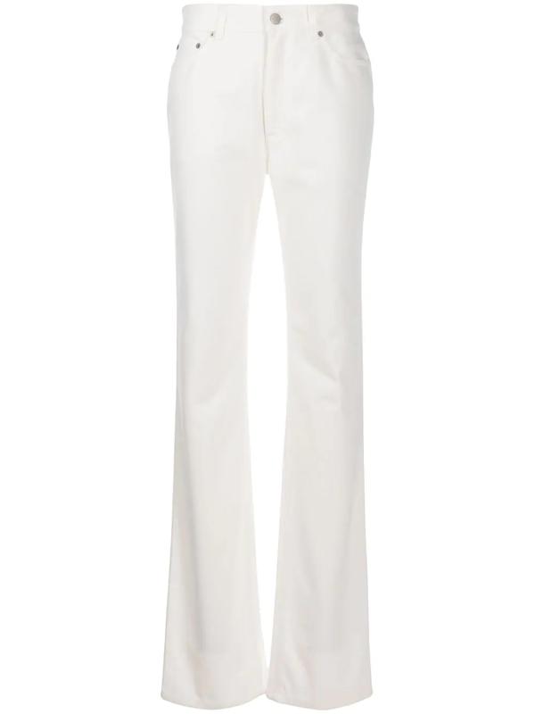 Fenty Denim Straight-fit Jeans In White